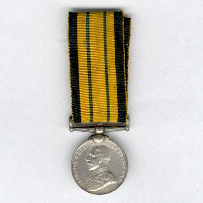 Africa General Service Medal, George V issue, miniature