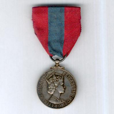 Imperial Service Medal, Elizabeth II, 1955 onwards issue, attributed to Herbert John Edwards
