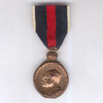 Coronation Medal 1902, bronze, unnamed as issued