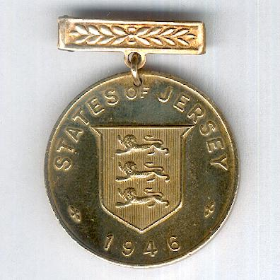 Commemorative Medal for the Liberation of Jersey, 1946