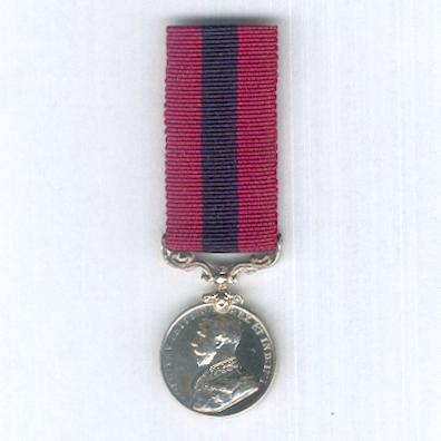 Distinguished Conduct Medal, George V 1st type, 1911-1930, miniature