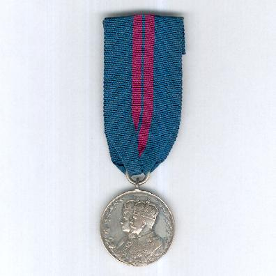 Coronation Medal 1911, silver, unnamed as issued