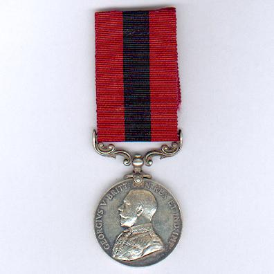 Distinguished Conduct Medal, George V 1st type, 1911-1930, to 19099 Gunner William Adcock, Headquarters, 94th Brigade, Royal Field Artillery