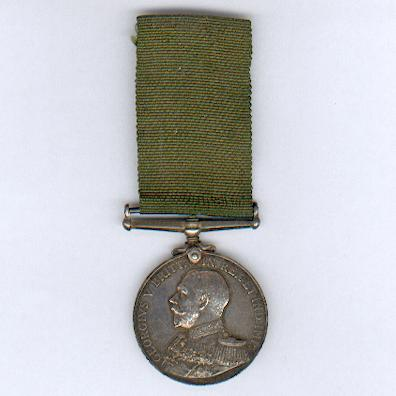 Royal Naval Reserve Long Service and Good Conduct Medal, George V issue, 1st type,  attributed to C.3317 Seaman B.G. Edworthy, Royal Naval Reserve