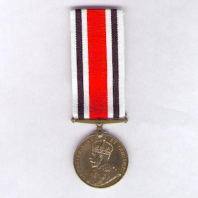 Special Constabulary Long Service Medal, George V issue, attributed