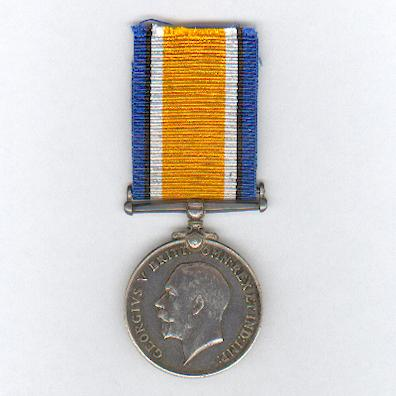 British War Medal, 1914-1920, attributed to Driver H. Paterson, Cape Auxiliary Horse Transport Corps