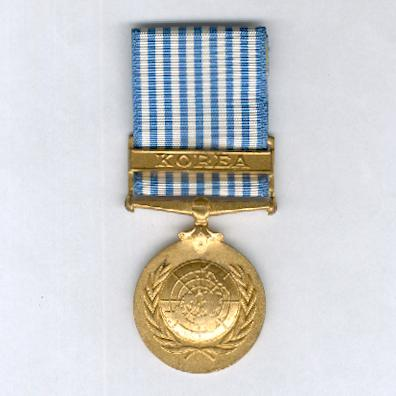 United Nations Korea Medal, 1950-1953, British and Commonwealth issue