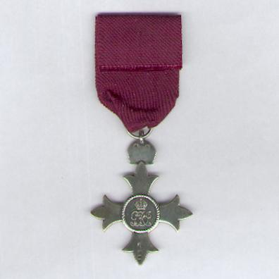 The Most Excellent Order of the British Empire, Member (M.B.E.), Civil, 1st type, 1917-1935 issue, silver, London 1929