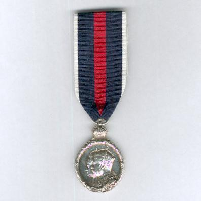 Coronation Medal 1902, silver, unnamed as issued