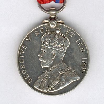 Coronation (Police) Medal, 1911, silver, Metropolitan Police version, attributed