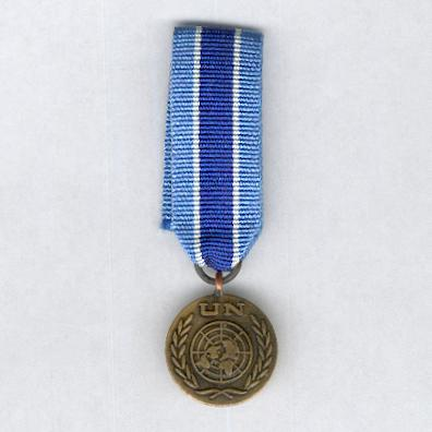 United Nations Medal, UNMIK (United Nations' Mission in Kosovo), miniature