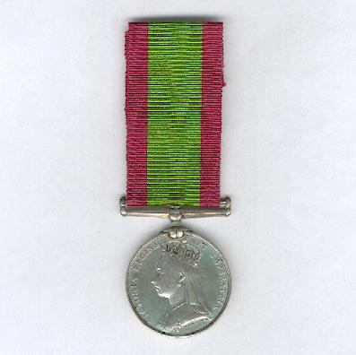 Afghanistan Medal, 1878-1880, attributed to 895 Private J. Callaghan, 2nd Battalion, 15th (Yorkshire East Riding) Regiment of Foot