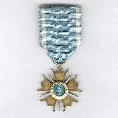 Order of the Quetzal, knight (Orden del Quetzal, caballero)