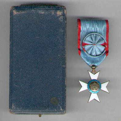 National Order of Honour and Merit, officer, in fitted case of issue (Ordre National de l'Honneur et du Mérite, officier, dans son écrin d'origine) by Arthus Bertrand, Paris