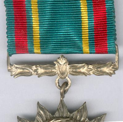 Order of the Star of Merit for Development of the Army, silver (Bintang Kartika Eka Pakci Nararya)