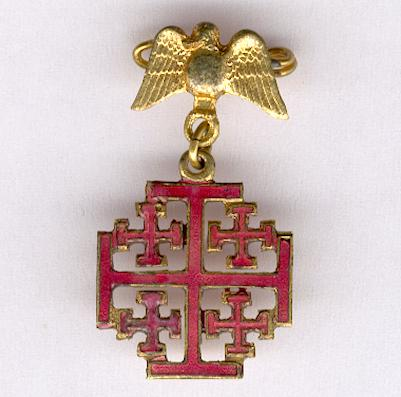 Equestrian Order of the Holy Sepulchre of Jerusalem, miniature