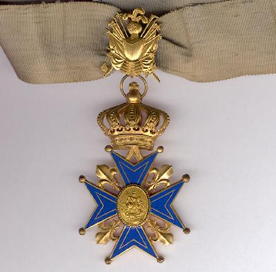 Apostolic and Hospitaller Order of Saint George of Burgundy, Commander of Justice (Ordre Equestre Apostolique de Saint-Georges de Bourgogne, Commandeur de Justice)