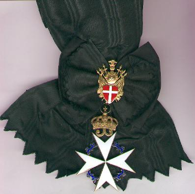 Sovereign Military Hospitaller Order of Saint John of Jerusalem, of Rhodes and of Malta, Knight of Justice, with full-length sash