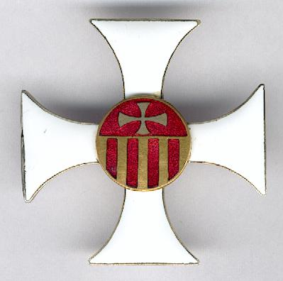 Royal Sovereign Military Order of Our Lady of Mercy (Ordre Royal Souverain Militaire de Notre-Dame de la Merci), breast badge