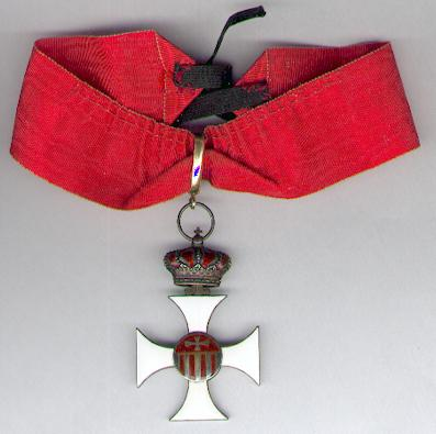 Royal Sovereign Military Order of Our Lady of Mercy, commander (Ordre Royal Souverain Militaire de Notre-Dame de la Merci, commandeur)