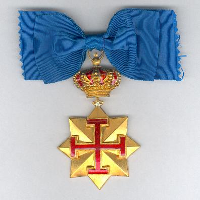 Order of St. George of Antioch, commander, on ladies' bow