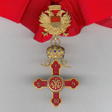 Imperial and Sovereign Order of St. Constantine the Great, commander, by A.Alberti of Milano, pre-1990