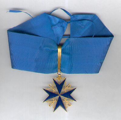 Uncertain Order, neck badge with full neck ribbon