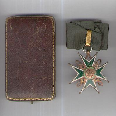 Military and Hospitaller Order of Saint Lazarus of Jerusalem, commander (Ordre Militaire et Hospitalleur de Saint Lazare de Jérusalem, commandeur) in case of issue