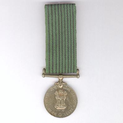 Long Service Medal for 9 Years, attributed