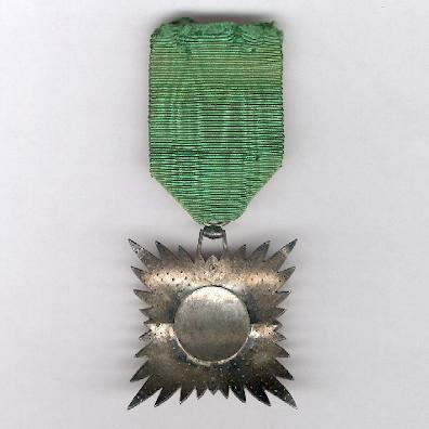 Imperial Order of the Lion and the Sun, civil division (Nishan-i-Shir u Khurshid, nishan-i-hormat), V class, 1820-1925 issue