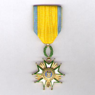 Order of the Crown of Iran (Nishan-i-Taj-i-Iran), V class, by Arthus Bertrand  & Cie of Paris