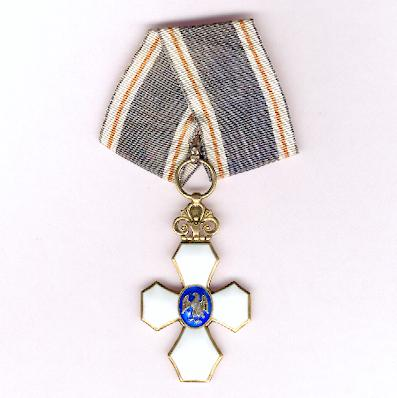 Icelandic Order of the Falcon (Íslenzka Fálkaorda), knight, 1944-onwards issue