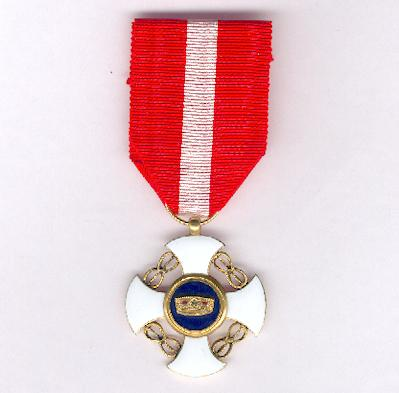 Order of the Crown of Italy, knight (Ordine della Corono d�Italia, cavaliere)
