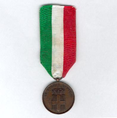 Medal for Civilian Valour, bronze (Medaglia al Valore Civile, bronzo)