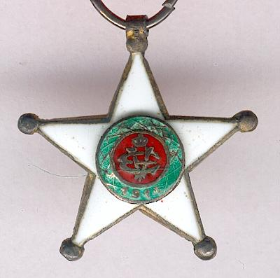 Colonial Order of the Star of Italy, knight, with miniature and buttonhole rosette, in new case (Ordine Coloniale della Stella d�Italia, cavaliere, con miniatura e distintivo in nuovo astuccio)