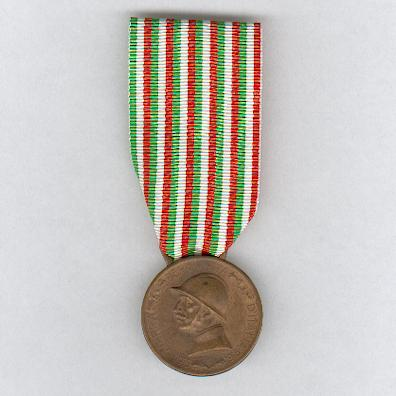 Commemorative Medal for the War of 1915-1918 (Medaglia Commemorativa della Guerra 1915-1918) by Sacchini of Milan