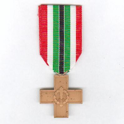 Cross for Veterans of the Italian Social Republic (Croce per i Reduci della Repubblica Sociale Italiana), 1943-45