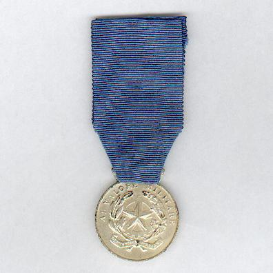Military Medal for Valour, 'silver' (Medaglia al Valore Militare, 'argento'), since 1949 issue