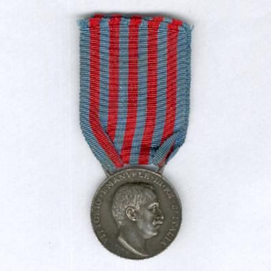 Commemorative Medal for the Italo-Turkish War, silver (Medaglia Commemorativa della Guerra Italo-Turca, argente) 1911-1912 by Regio Zecca