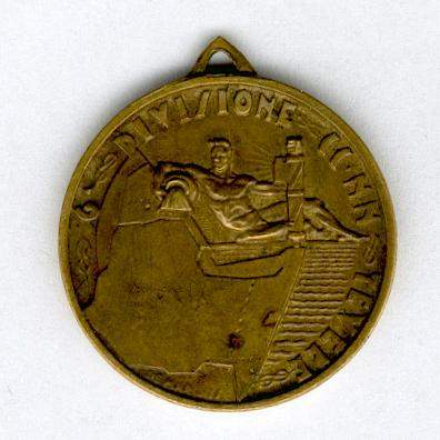 Commemorative Medal of the 6th Blackshirt Division 'Tiber' in East Africa (Medaglia Commemorativa della 6a Divisione CC.NN. 'Tevere' in Africa Orientale), 1936