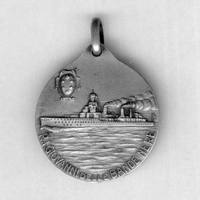 Medal for the Cruiser Giovanni delle Bande Nere