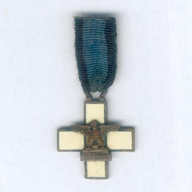 Commemorative Cross for III Army Corps in East Africa (Croce Commemorativa del IIIº Corpo d'Armata in Africa Orientale), 1935-1936, miniature