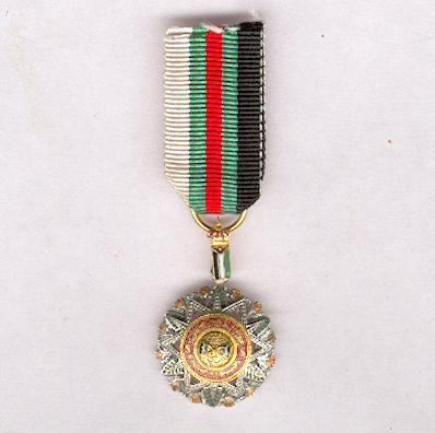 Supreme Order of the Renaissance (Wisam an-Nahada), knight, miniature