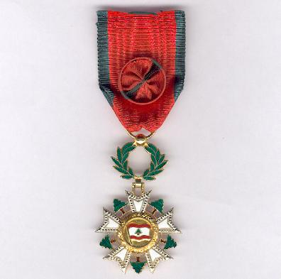 National Order of the Cedar, officer (Ordre National du Cèdre, officier)