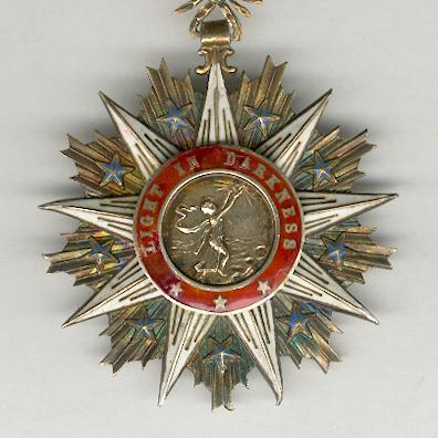 Order of the Star of Africa, commander, by Arthus Bertrand of Paris