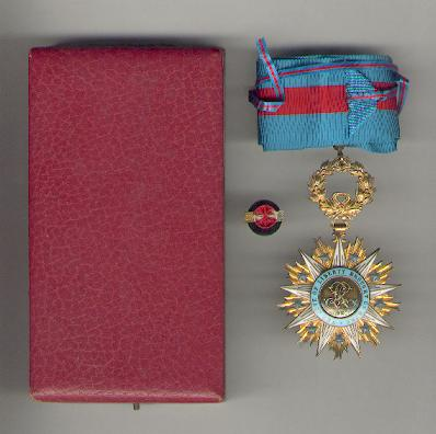 Order of the Star of Africa, commander, in fitted case of issue by Chobillon of Paris