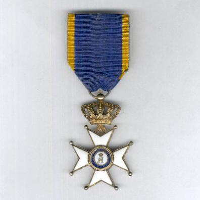 Civil and Military Order of Merit of Adolph of Nassau, knight (Ordre Ducal du Mérite Civil et Militaire d'Adolphe de Nassau, chevalier)