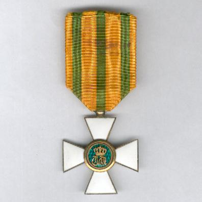 Order of the Crown of Oak, knight (Ordre de la Couronne de Chêne, chevalier)