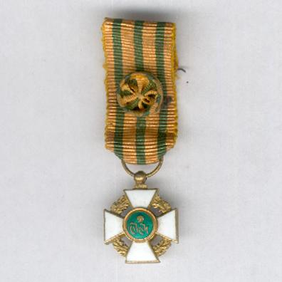 Order of the Crown of Oak, officer (Ordre de la Couronne de Chêne, officier), miniature