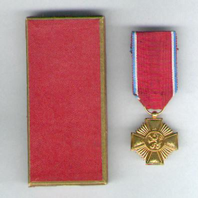 Order of Merit of the Grand Duchy of Luxembourg, gold medal (Ordre de Mérite du Grand-Duché de Luxembourg, médaille d'or) in case of issue